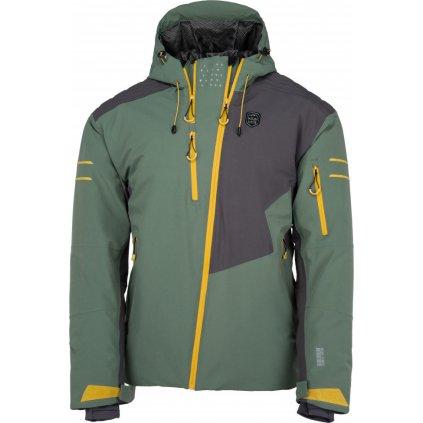 Pánská lyžařská bunda KILPI Asimetrix-m khaki