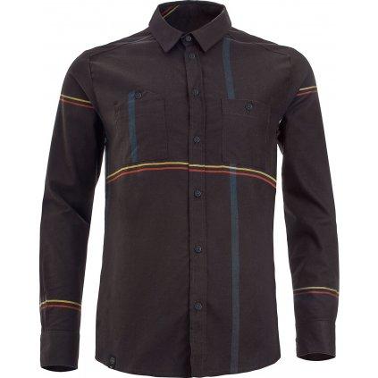 Pánská košile WOOX Camisia Licorice Senor