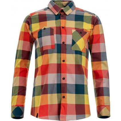 Pánská košile WOOX Camisia Celery Senor