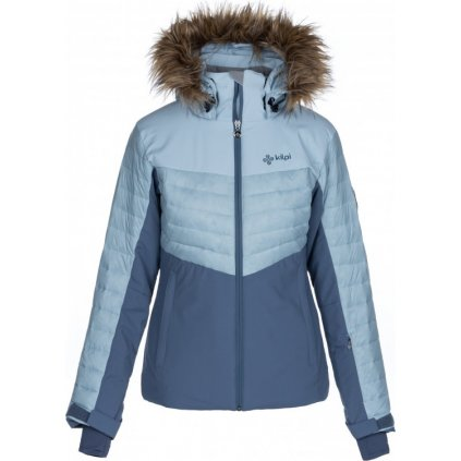 Dámská lyžařská bunda KILPI Breda-w světle modrá