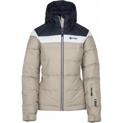 Dámská lyžařská bunda KILPI Synthia-w béžová