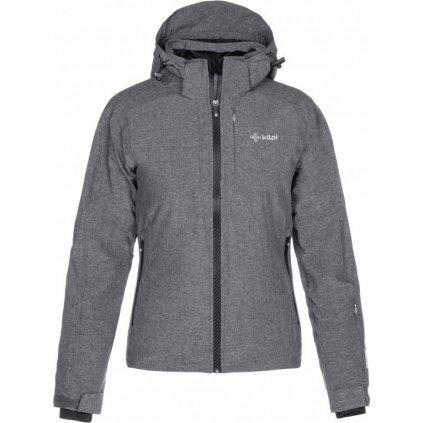 Dámská lyžařská bunda KILPI Maania-w tmavě šedá