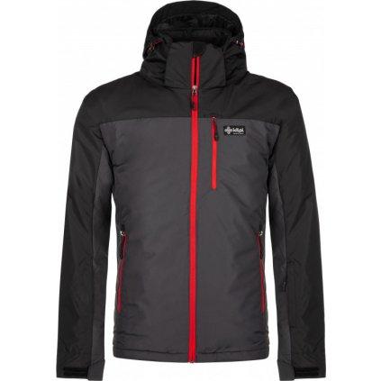 Pánská zimní bunda KILPI Flip-m tmavě šedá