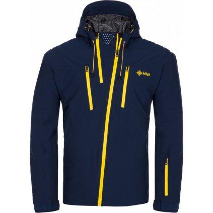 Pánská lyžařská bunda KILPI Thal-m tmavě modrá