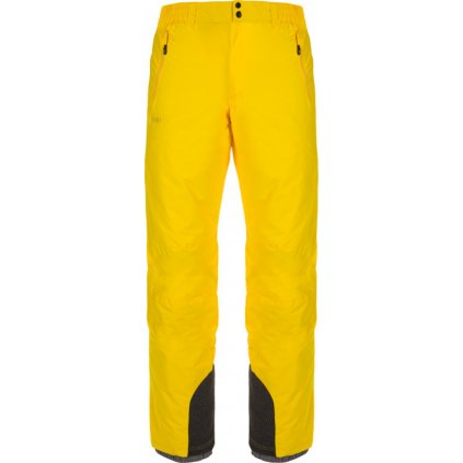 Pánské lyžařské kalhoty KILPI Gabone-m žlutá