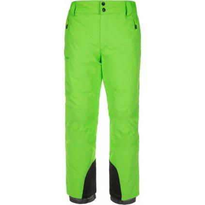 Pánské lyžařské kalhoty KILPI Gabone-m zelená