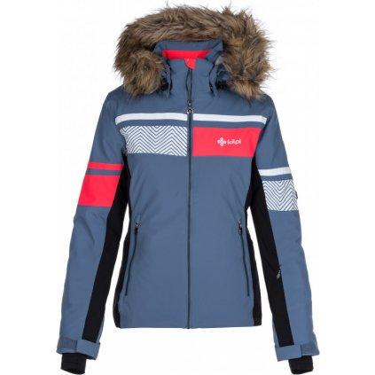 Dámská lyžařská vyhřívaná bunda KILPI Aniela-w modrá