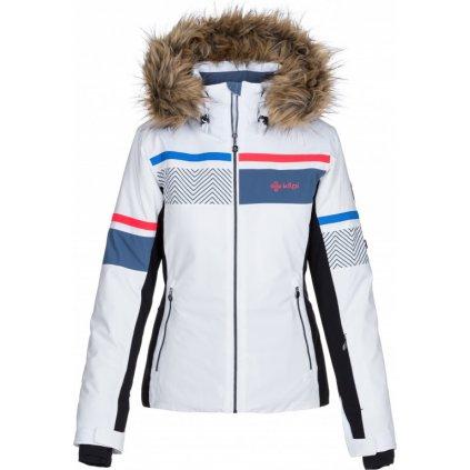 Dámská lyžařská vyhřívaná bunda KILPI Aniela-w bílá