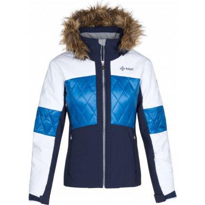 Dámská lyžařská bunda KILPI Elza-w tmavě modrá