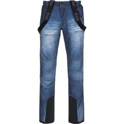 Pánské sofshellové kalhoty KILPI Jeanso-m modrá