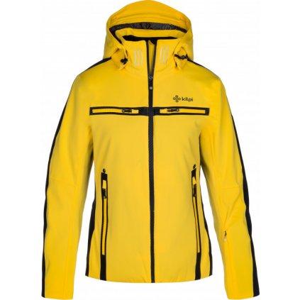 Dámská lyžařská bunda KILPI Hattori-w žlutá