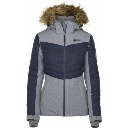 Dámská lyžařská bunda KILPI Breda-w šedá