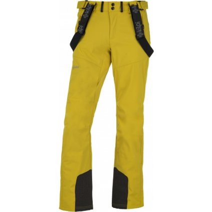 Pánské lyžařské kalhoty KILPI Rhea-m žlutá