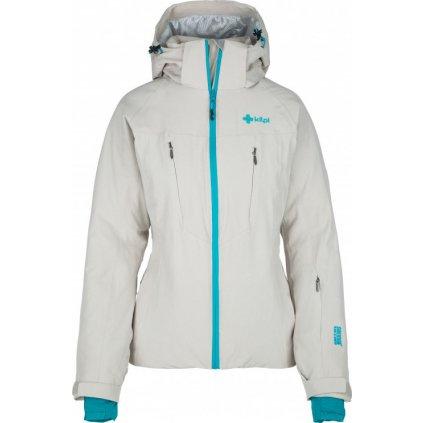 Dámská lyžařská bunda KILPI Addison-w béžová