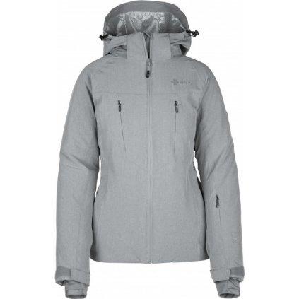 Dámská lyžařská bunda KILPI Addison-w šedá