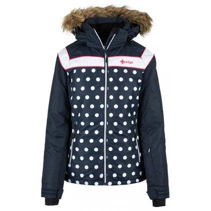 Dámská lyžařská bunda KILPI Babu-w tmavě modrá