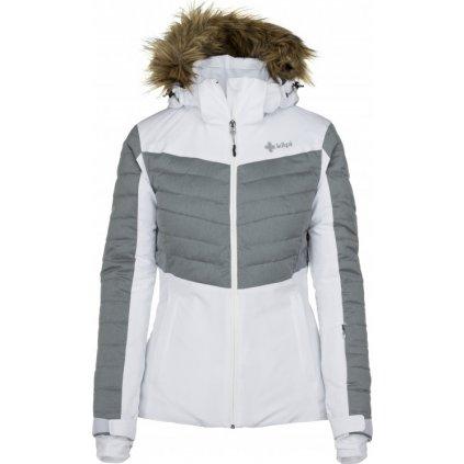 Dámská lyžařská bunda  KILPI Breda-w bílá