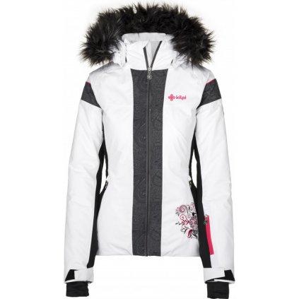 Dámská lyžařská bunda KILPI Delia-w bílá