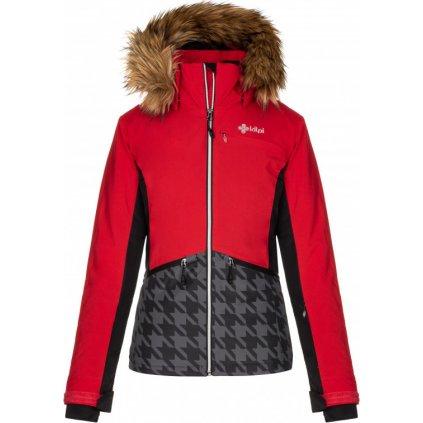 Dámská zimní lyžařská bunda KILPI Tessa-w červená