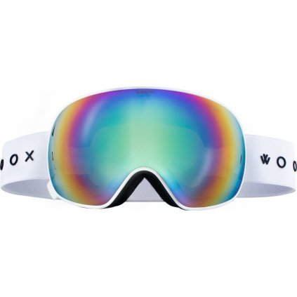 Lyžařské brýle WOOX Opticus Opulentus White/Gre