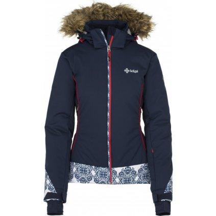 Dámská lyžařská bunda KILPI Vera-w tmavě modrá