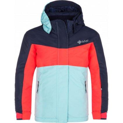 Dívčí lyžařská bunda KILPI Mils-jg růžová