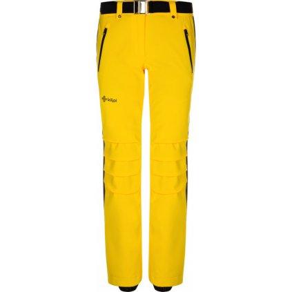 Dámské lyžařské kalhoty KILPI Hanzo-w žlutá