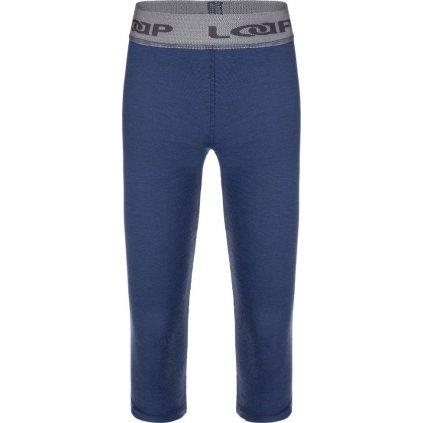 Dětské termo kalhoty LOAP Pitris modrá