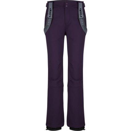 Dámské softshell kalhoty LOAP Lizzy fialová