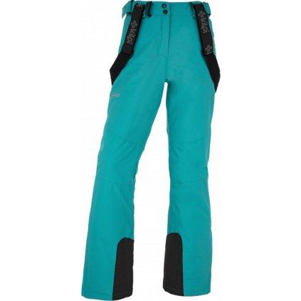 Dámské lyžařské kalhoty KILPI Elare-w tyrkysová