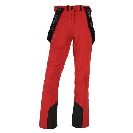 Dámské softshellové kalhoty KILPI Rhea-w červená