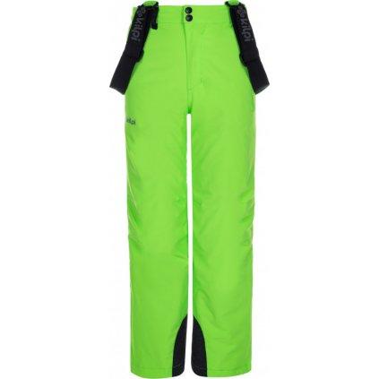 Chlapecké lyžařské kalhoty KILPI Methone-jb zelená