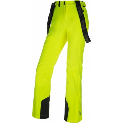 Dámské softshellové kalhoty KILPI Rhea-w žlutá