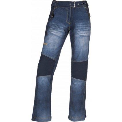 Dámské sofshellové kalhoty KILPI Jeanso-w modrá