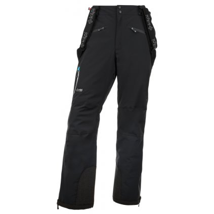 Pánské lyžařské kalhoty KILPI Team pants-m černá