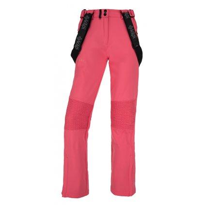 Dámské softshellové kalhoty KILPI Dione-w růžová