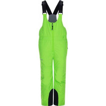 Dětské lyžařské kalhoty KILPI Daryl-j zelená