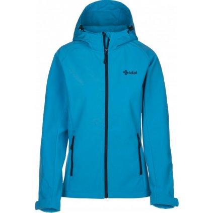 Dámská softshell bunda KILPI Elia světle modrá