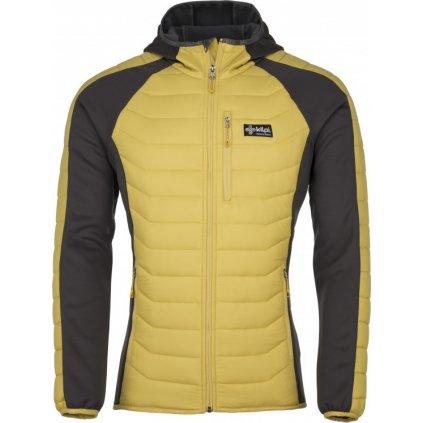 Pánská outdoorová bunda KILPI Adisa-m žlutá