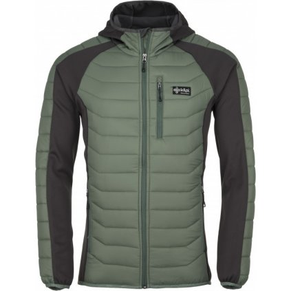 Pánská outdoorová bunda KILPI Adisa-m khaki