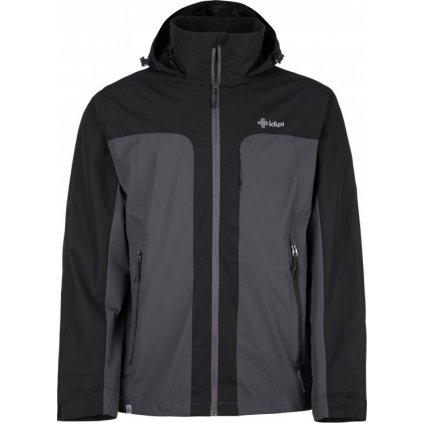 Pánská outdoorová bunda KILPI Ortler-m tmavě šedá