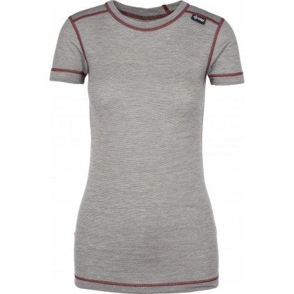 Dámské funkční tričko KILPI Merin-w tmavě šedá