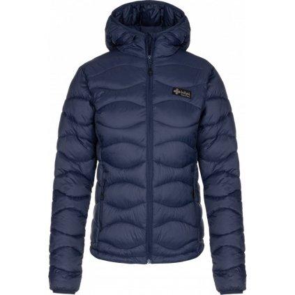 Dámská zimní bunda KILPI Rebeki-w tmavě modrá