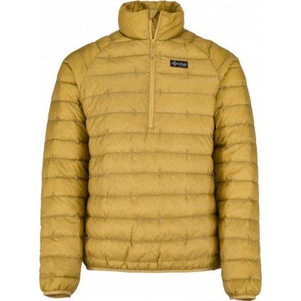 Pánská péřová bunda KILPI Edmon-m žlutá