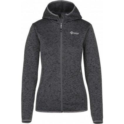 Dámský fleece svetr KILPI Bandai-w tmavě šedá