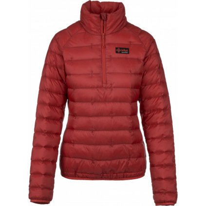 Dámská péřová bunda KILPI Edmon-w červená