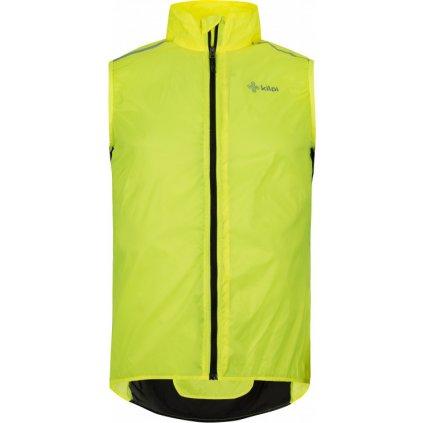 Pánská vesta KILPI Flow-m žlutá