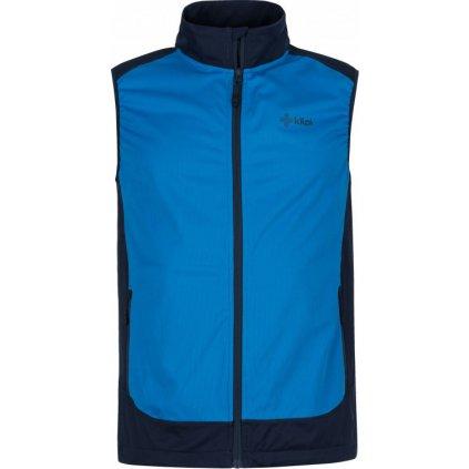 Pánská outdoorová vesta KILPI Tofano-m modrá