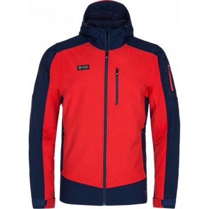 Pánská softshellová bunda KILPI Presena-m červená