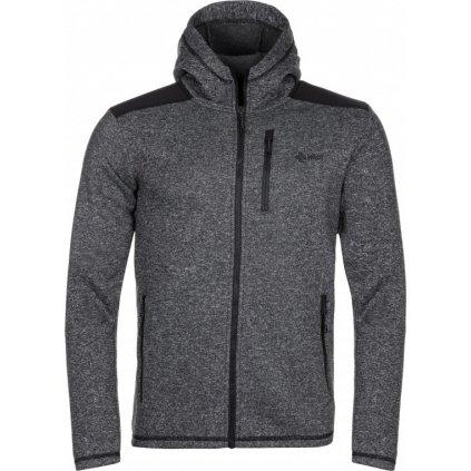 Pánský fleecový svetr KILPI Dalby-m černá